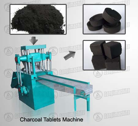 Charcoal Tablets Machine