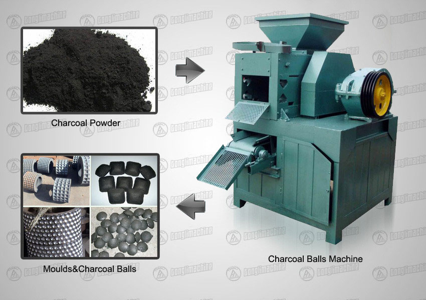 Charcoal Ball Machine