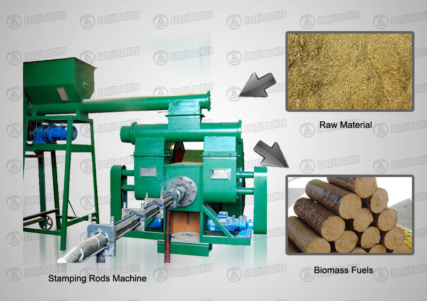 stamping-rod-machine